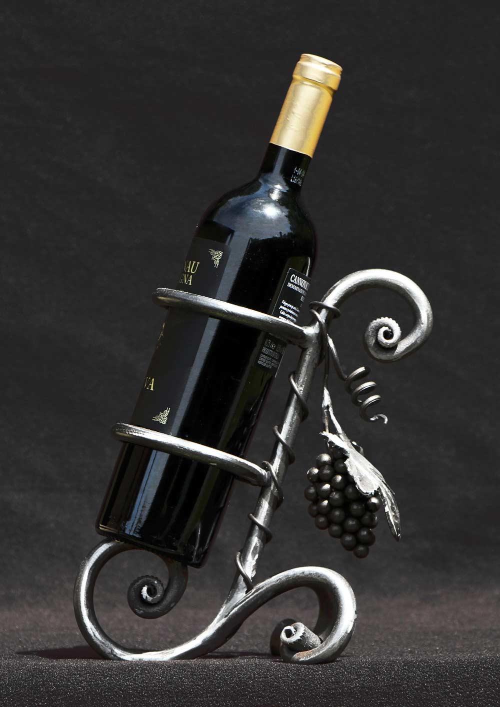 Porta bottiglie vino fai da te modelli semplici da - Ferro battuto porta ...